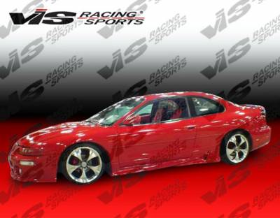 Sebring 2Dr - Side Skirts - VIS Racing - Chrysler Sebring 2DR VIS Racing Invader Side Skirts - 95CYSEB2DINV-004