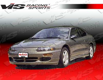 Avenger - Side Skirts - VIS Racing - Dodge Avenger VIS Racing GSX Side Skirts - 95DGAVG2DGSX-004