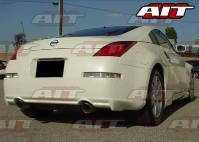 350Z - Rear Add On - AIT Racing - Nissan 350Z AIT VSI Style Rear Skirt - N3502HIVS1RS