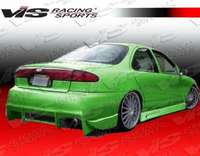 Contour - Side Skirts - VIS Racing - Ford Contour VIS Racing Ballistix Side Skirts - 95FDCON2DBX-004