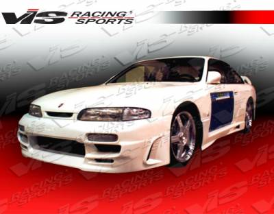 240SX - Side Skirts - VIS Racing - Nissan 240SX VIS Racing Xtreme Side Skirts - 95NS2402DEX-004