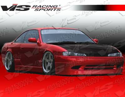 240SX - Side Skirts - VIS Racing - Nissan 240SX VIS Racing Super Side Skirts - 95NS2402DSUP-004