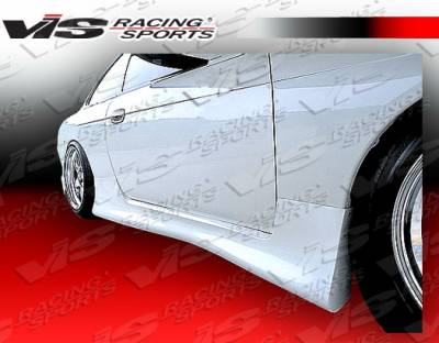 240SX - Side Skirts - VIS Racing - Nissan 240SX VIS Racing Wings Side Skirts - 95NS2402DWIN-004