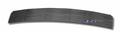 Grilles - Custom Fit Grilles - APS - Nissan 350Z APS Billet Grille - Upper - Stainless Steel - N65415S