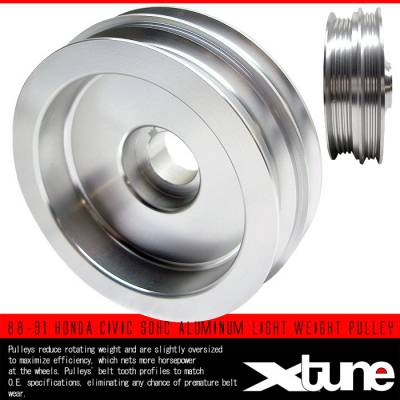 Performance Parts - Pulleys - Custom - SOHC ALUMINUM LIGHT WEIGHT PULLEY