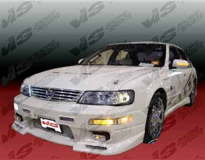 Maxima - Side Skirts - VIS Racing - Nissan Maxima VIS Racing Omega Side Skirts - 95NSMAX4DOMA-004