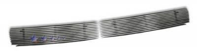Grilles - Custom Fit Grilles - APS - Nissan Altima APS Billet Grille - Bumper - Aluminum - N65429A