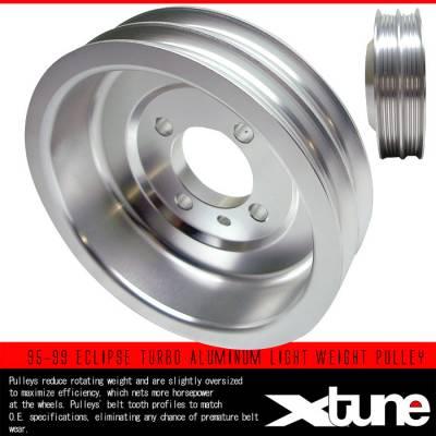 Performance Parts - Pulleys - Custom - TURBO ALUMINUM LIGHT WEIGHT PULLEY
