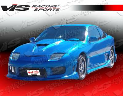 Sunfire - Side Skirts - VIS Racing - Pontiac Sunfire VIS Racing Striker Side Skirts - 95PTSUN2DSTR-004