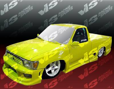 Tacoma - Side Skirts - VIS Racing - Toyota Tacoma VIS Racing Striker Side Skirt - 4PC - 95TYTAC2DEXSTR-004