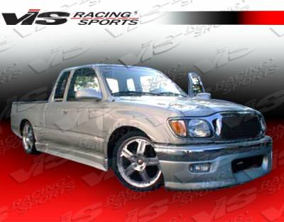 Tacoma - Side Skirts - VIS Racing - Toyota Tacoma VIS Racing Techno R Side Skirt - 4PC - 95TYTAC2DEXTNR-004