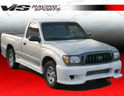 Tacoma - Side Skirts - VIS Racing - Toyota Tacoma VIS Racing Outlaw-1 Side Skirts - 95TYTAC2DOL-004