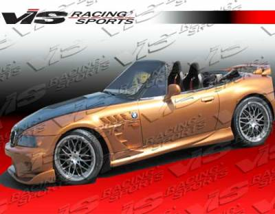 Z3 - Side Skirts - VIS Racing - BMW Z3 VIS Racing Invader Side Skirts - 96BMZ32DINV-004