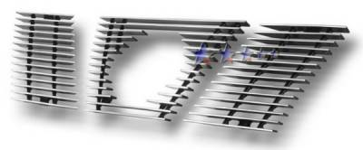 Grilles - Custom Fit Grilles - APS - Nissan Xterra APS Billet Grille - with Logo Opening - Upper - Aluminum - N66430A