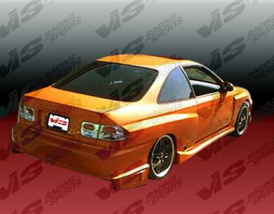 Civic 2Dr - Side Skirts - VIS Racing - Honda Civic 2DR & HB VIS Racing Striker Side Skirts - 96HDCVC2DSTR-004