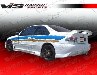 Civic 4Dr - Side Skirts - VIS Racing - Honda Civic 4DR VIS Racing XGT Side Skirts - 96HDCVC4DXGT-004