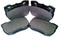 Brakes - Brake Pads - Custom - Cool Carbon Sport Brake Pad Set - Rear