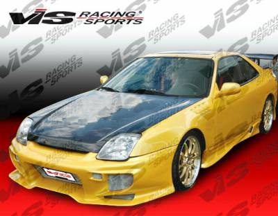 Prelude - Side Skirts - VIS Racing - Honda Prelude VIS Racing Invader Side Skirts - 97HDPRE2DINV-004