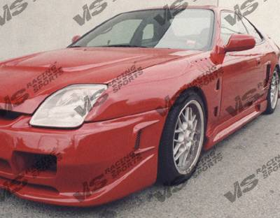 Prelude - Side Skirts - VIS Racing - Honda Prelude VIS Racing Omega Side Skirts - 97HDPRE2DOMA-004