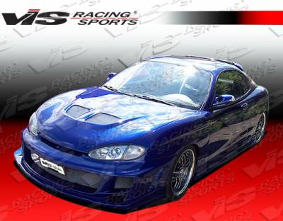 Tiburon - Side Skirts - VIS Racing - Hyundai Tiburon VIS Racing Ballistix Side Skirts - 97HYTIB2DBX-004