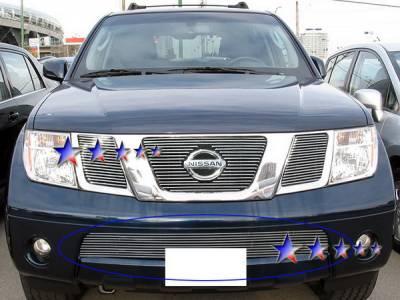 Grilles - Custom Fit Grilles - APS - Nissan Pathfinder APS Billet Grille - Bumper - Aluminum - N66575A