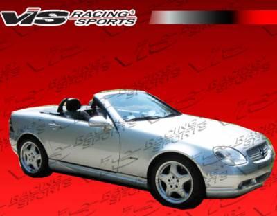 SLK - Side Skirts - VIS Racing - Mercedes-Benz SLK VIS Racing Euro Tech Side Skirts - 97MER1702DET-004