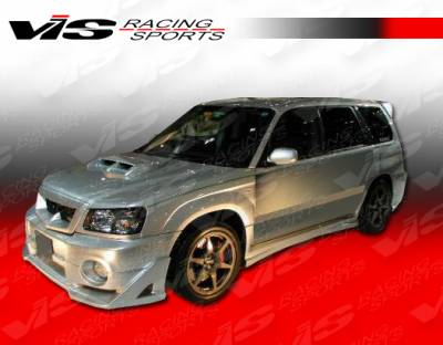 Forester - Side Skirts - VIS Racing - Subaru Forester VIS Racing Z Sport Side Skirts - 97SBFOR4DZST-004