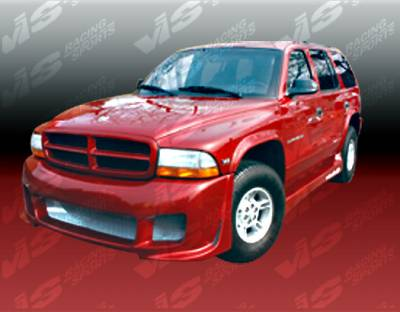 Durango - Side Skirts - VIS Racing - Dodge Durango VIS Racing Outcast Side Skirts - 98DGDUR4DOC-004