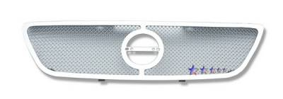 Grilles - Custom Fit Grilles - APS - Nissan Altima APS Wire Mesh Grille - Upper - Stainless Steel - N75406T