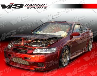 Accord 2Dr - Side Skirts - VIS Racing - Honda Accord 2DR VIS Racing Omega Side Skirts - 98HDACC2DOMA-004