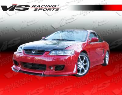 Accord 2Dr - Side Skirts - VIS Racing - Honda Accord 2DR VIS Racing TSC-3 Side Skirts - 98HDACC2DTSC3-004