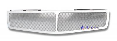 Grilles - Custom Fit Grilles - APS - Nissan Maxima APS Wire Mesh Grille - Upper - Stainless Steel - N75408T