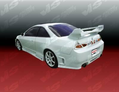 Accord 2Dr - Side Skirts - VIS Racing - Honda Accord 2DR VIS Racing Z1 boxer Side Skirts - 98HDACC2DZ1-004