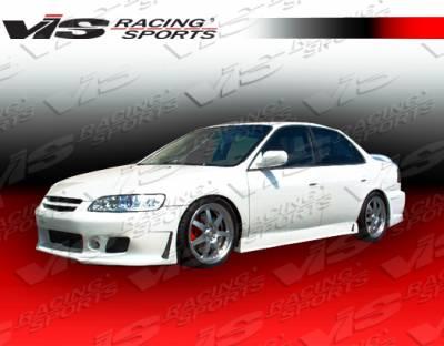 Accord 4Dr - Side Skirts - VIS Racing - Honda Accord 4DR VIS Racing TSC-3 Side Skirts - 98HDACC4DTSC3-004