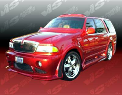 Navigator - Side Skirts - VIS Racing - Lincoln Navigator VIS Racing Outcast Side Skirts - 98LCNAV4DOC-004