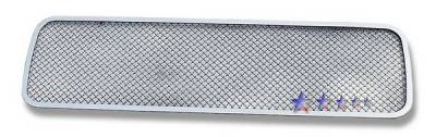 Grilles - Custom Fit Grilles - APS - Nissan Titan APS Wire Mesh Grille - Bumper - Stainless Steel - N75413T
