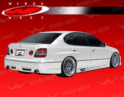 GS - Side Skirts - VIS Racing - Lexus GS VIS Racing JPC Type B Side Skirts - Polyurethane - 98LXGS34DJPCB-004P