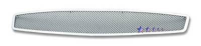 Grilles - Custom Fit Grilles - APS - Infiniti G35 2DR APS Wire Mesh Grille - Upper - Stainless Steel - N75602T
