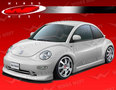 Beetle - Side Skirts - VIS Racing - Volkswagen Beetle VIS Racing JPC Side Skirts - Polyurethane - 98VWBEE2DJPC-004P