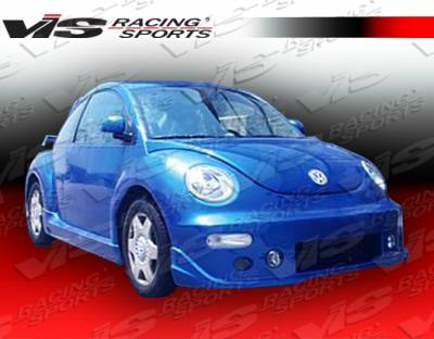Beetle - Side Skirts - VIS Racing - Volkswagen Beetle VIS Racing TSC-2 Side Skirts - 98VWBEE2DTSC2-004