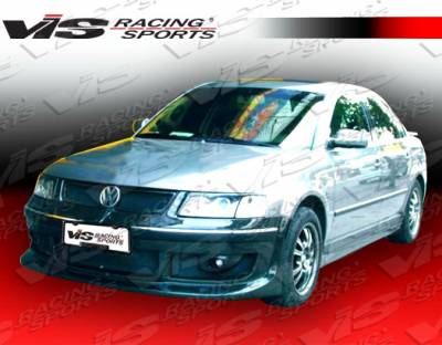Passat - Side Skirts - VIS Racing - Volkswagen Passat VIS Racing Rabiat Side Skirts - 98VWPAS4DRAB-004