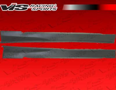 Mustang - Side Skirts - VIS Racing - Ford Mustang VIS Racing Invader-3 Side Skirts - 99FDMUS2DINV3-004