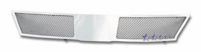 Grilles - Custom Fit Grilles - APS - Nissan Versa APS Wire Mesh Grille - Upper - Stainless Steel - N76483T