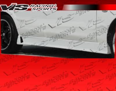 Cougar - Side Skirts - VIS Racing - Mercury Cougar VIS Racing TSC-3 Side Skirts - 99MYCOU2DTSC3-004