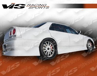 Skyline - Side Skirts - VIS Racing - Nissan Skyline VIS Racing B-Speed Side Skirts - 99NSR34GTRBSP-004