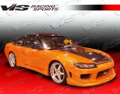 Silvia - Side Skirts - VIS Racing - Nissan S15 VIS Racing Ballistix Side Skirts - 99NSS152DBX-004