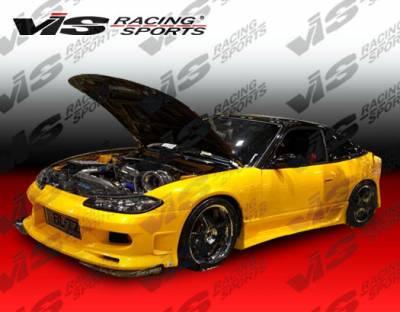 Silvia - Side Skirts - VIS Racing - Nissan Silvia VIS Racing G-Force Side Skirts - 99NSS152DGF-004