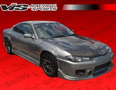 Silvia - Side Skirts - VIS Racing - Nissan Silvia VIS Racing Tracer Side Skirts - 99NSS152DTRA-004