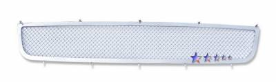 Grilles - Custom Fit Grilles - APS - Nissan Altima APS Wire Mesh Grille - N76753T