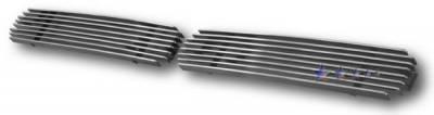 Grilles - Custom Fit Grilles - APS - Nissan Pickup APS Billet Grille - Bumper - Aluminum - N85117A